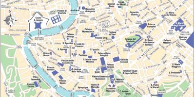 Mapa De Italia Roma.Roma Mapa Mapas De Roma Lazio Italia